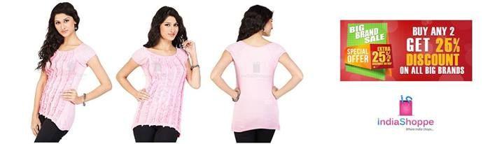 Strawberry T-Shirts for Women - Ruffles - Pink  Material: Viscose/Spandex  http://goo.gl/HT2QFd