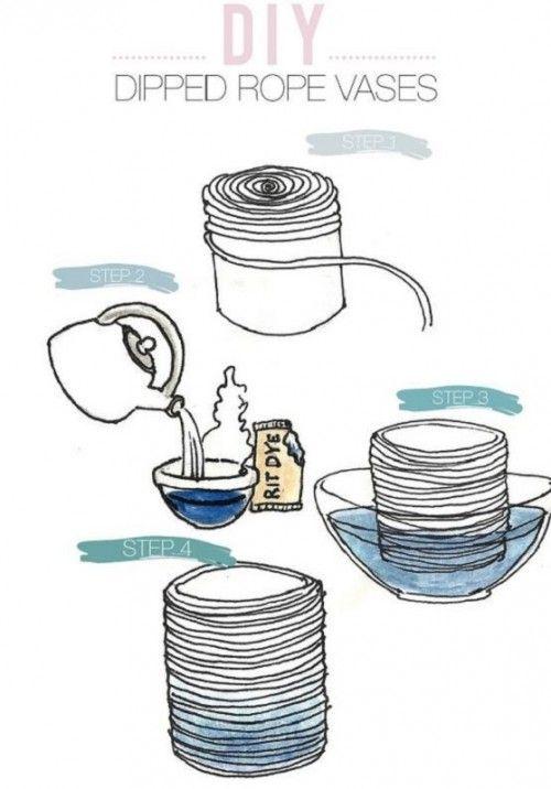 Где мастерство сплетается с душою: украшаем интерьер самодельными плетёными вазами