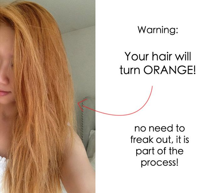 Wella T18 Before And After Wash Dry Amp Bleach 2