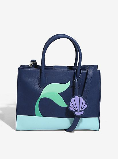 Disney The Little Mermaid Fin Crossbody Bag - BoxLunch ExclusiveDisney The Little Mermaid Fin Crossbody Bag - BoxLunch Exclusive,