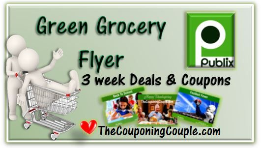 Here is the NEW Publix Green Grocery Flyer that runs from 3-1 to 3-21!  You can get all of the details at the link below...  ► http://www.thecouponingcouple.com/publix-green-grocery-flyer-for-3-1-14/