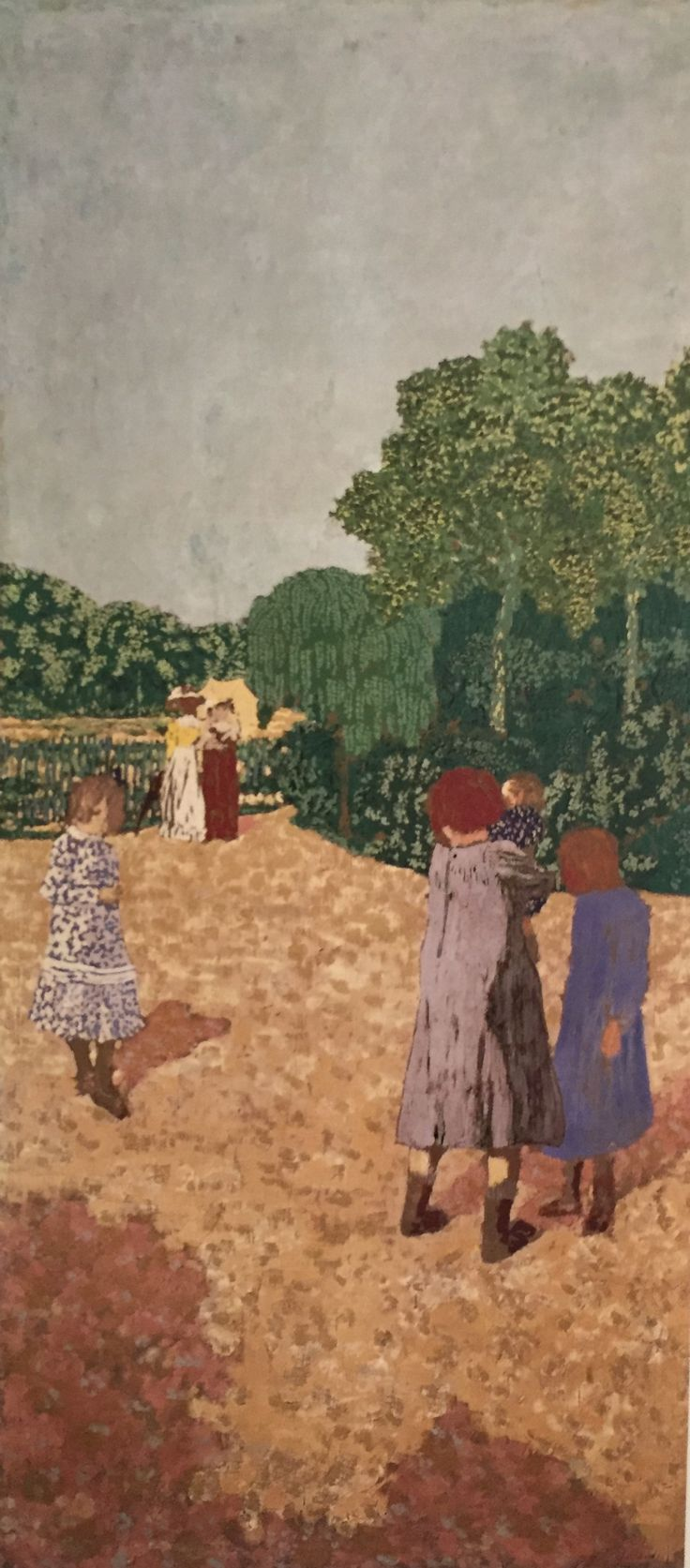 """""""The Promenade"""" Edouard Vuillard, 1894"""