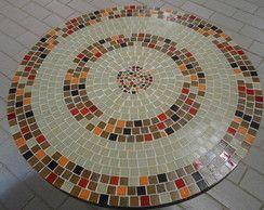 Tampo de mesa mosaico                                                                                                                                                                                 Mais