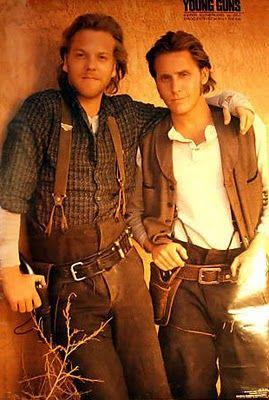24 Jack Bauer 4Ever: Kiefer Sutherland Movie Flashback: Young Guns 1988