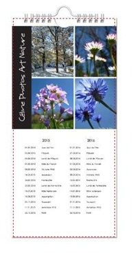 Calendrier de cuisine 2015 de Céline Photos Art Nature