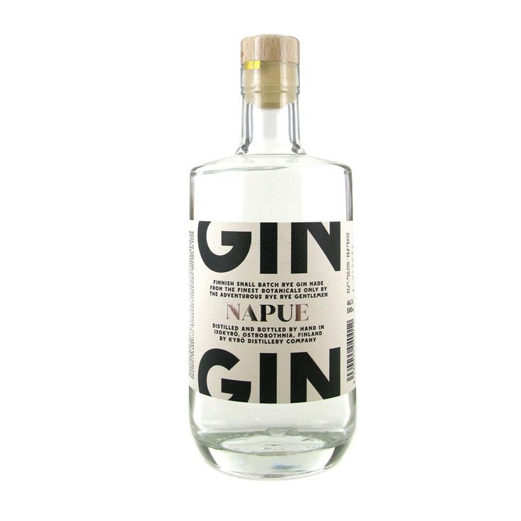 In Rye we Trust - Miika, Miko, Mikka, Kalle and Jouni - came up with the idea of establishing a micro distillery, the result... Napue Gin