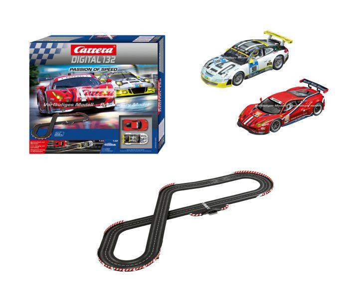 CARRERA SLOT CAR SETS 30195 PASSION OF SPEED http://pizzatrains.com/2017-carrera-slot-cars.html