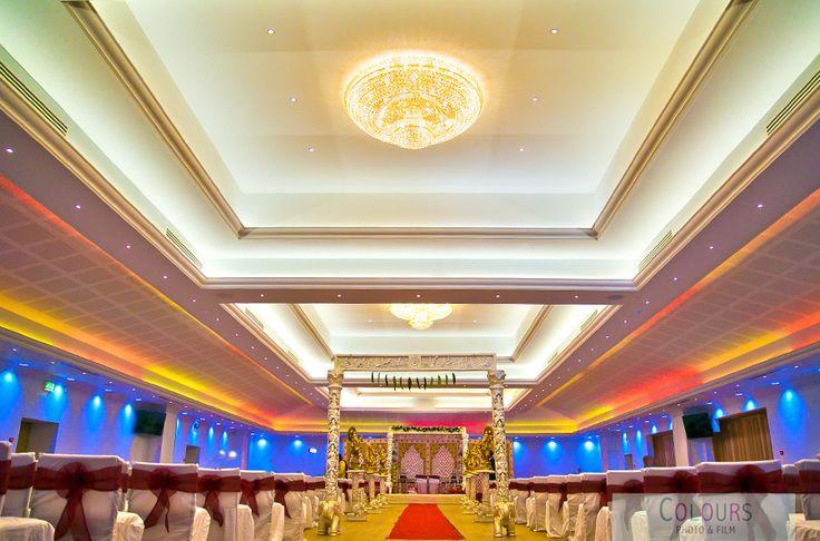 Wedding decoration at Oshwal Centre www.coloursphotofilm.co.uk #wedding #oshwalcentre #hertfordshireweddings