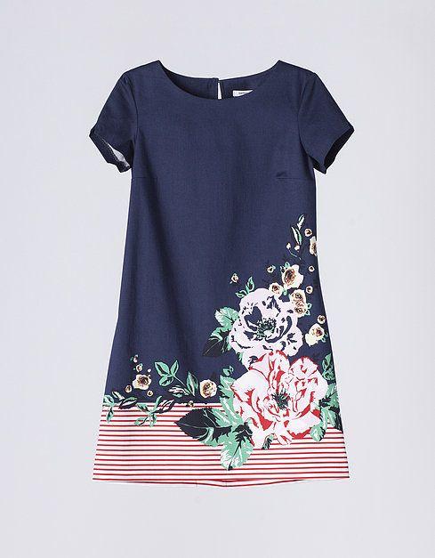 Vestido estampado | VESTIDOS Y MONOS | SHOP ONLINE SUITEBLANCO.COM