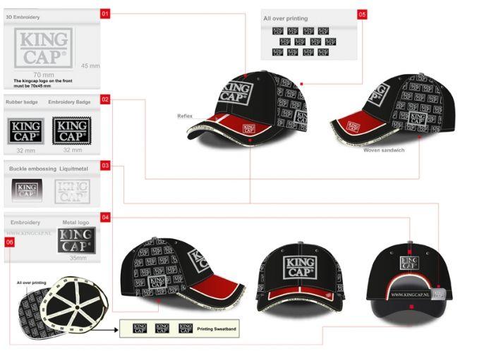 Tailor-made cap - Caps, hoeden, petten, zonneklep, hoofddoek, cap - Relatiegeschenken
