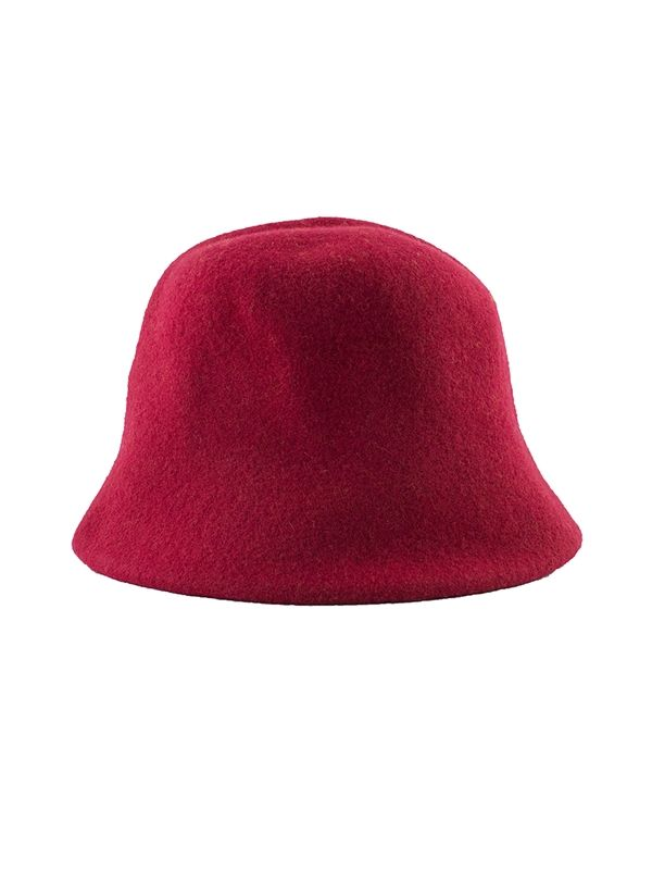 Wolfram Kopka - Knitted Woolen Clochard Red