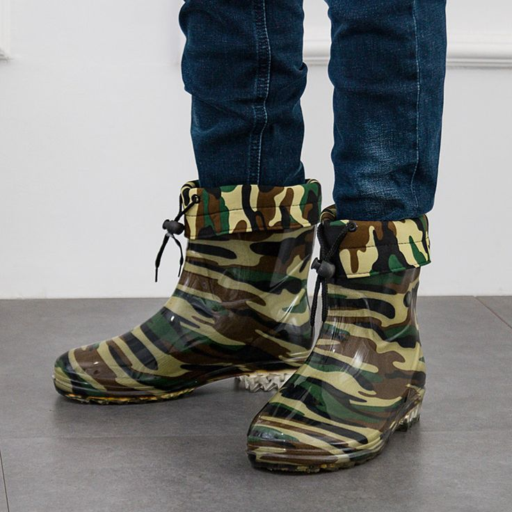 >> Click to Buy << 2017 NEW ARRVIALS Army green RAIN boots waterproof Non-slip Men water wash kitchen chef shoes work shoe boots waterproof shoes #Affiliate