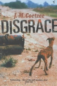 Disgrace by JM Coetzee #writing