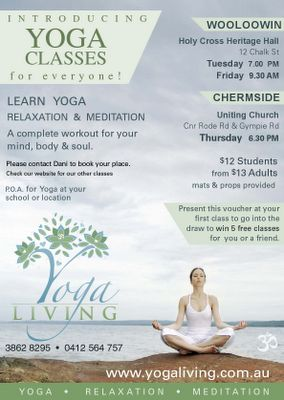 Yoga Flyer Design | Fig and Willow: October 2008