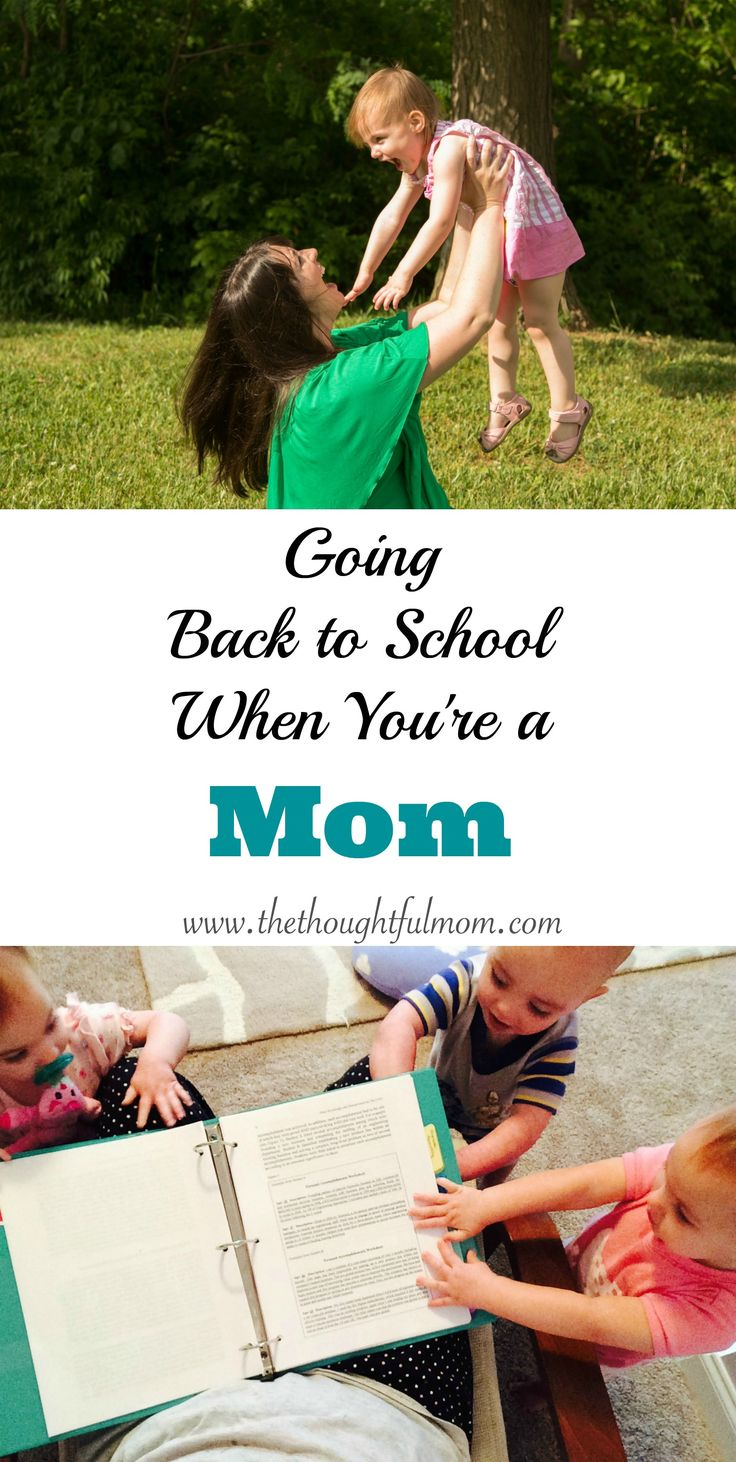 Going back to school when you're a mom can be tough, but it's not impossible. A list of helpful tips if you are thinking about more education for yourself,