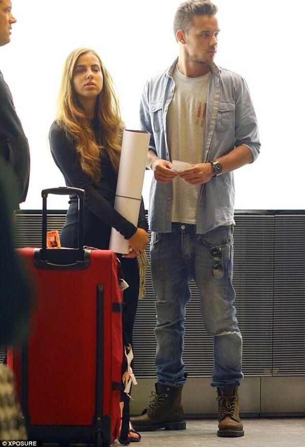 Aw he's so much taller than she is! :) <3