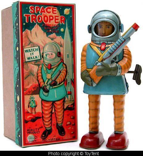 Haji Space Trooper - made in Japan