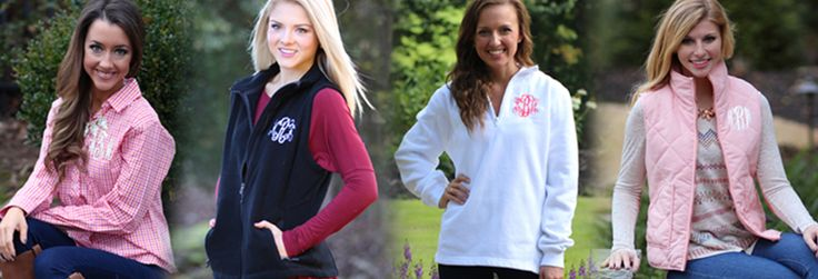 Monogrammed Clothing | Rain Jackets | Marleylilly