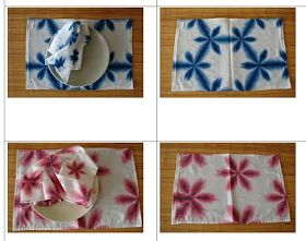 sekka shibori placemats and napkins?