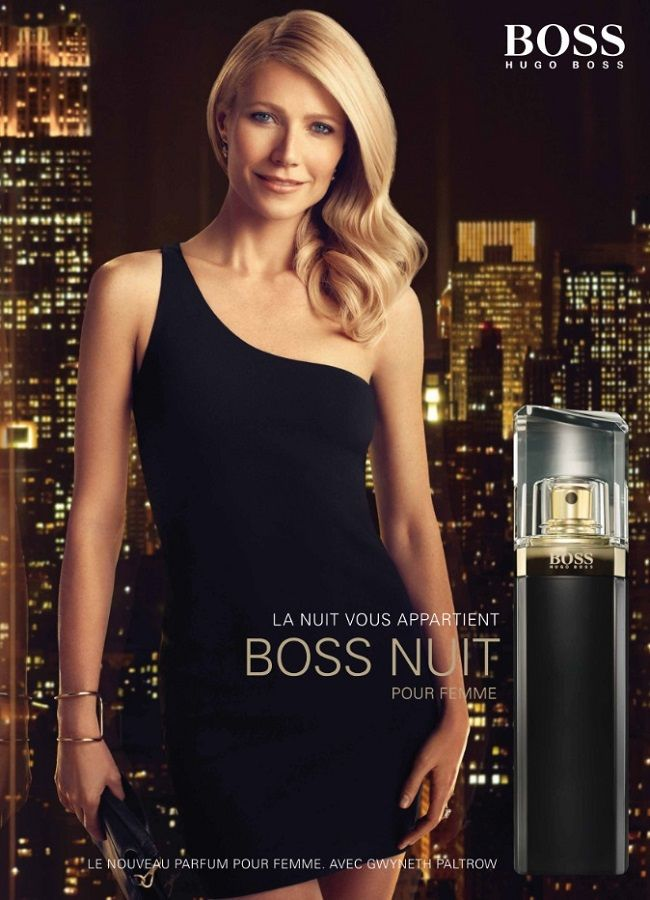 Addiction deo ad girl in black dress