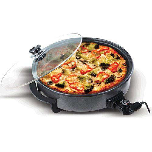 LOWEST EVER AMAZON PRICE Large 40cm Round Multi Cooker with Glass Lid NOW £16.99 Delivered