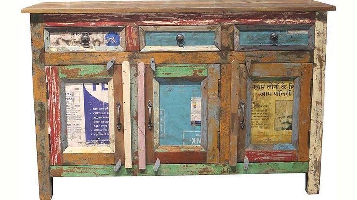 Sideboard, Home affaire, »Montreal«, Breite 120 cm Jetzt bestellen unter: https://moebel.ladendirekt.de/wohnzimmer/schraenke/sideboards/?uid=bbb83665-14bd-5b79-a981-a08417348ea9&utm_source=pinterest&utm_medium=pin&utm_campaign=boards #schraenke #wohnzimmer #sideboards