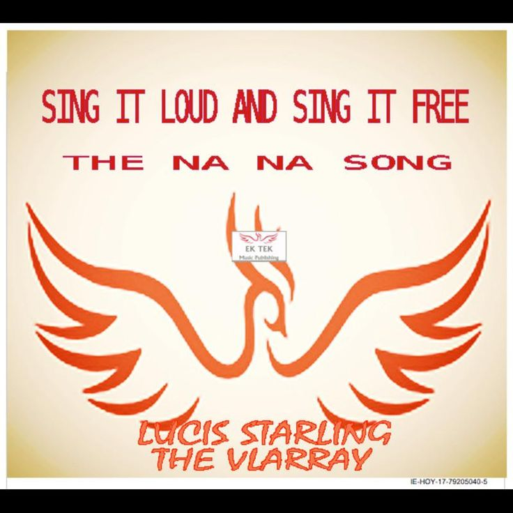 """STREAM the new  Lucis Starling AOR POP single """"SING IT LOUD AND SING IT FREE (The Na Na Song) on Spotify: http://spoti.fi/2nRNi72"""