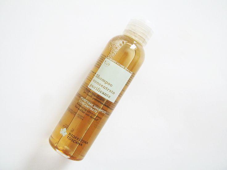 BIOFFICINA TOSCANA: Shampoo Concentrato Purificante per capelli grassa e con forfora + la non novità della novità