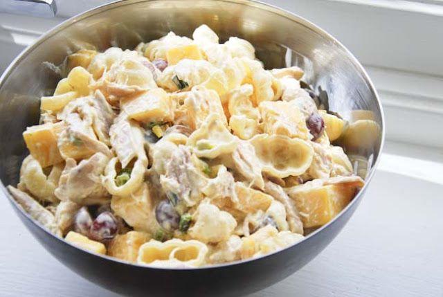 Kylling- og pastasalat