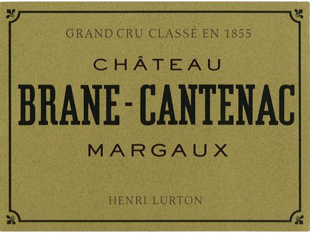 Château Brane Cantenac Margaux; Deuxieme Grand Crus Classes (Second Growths - 14)
