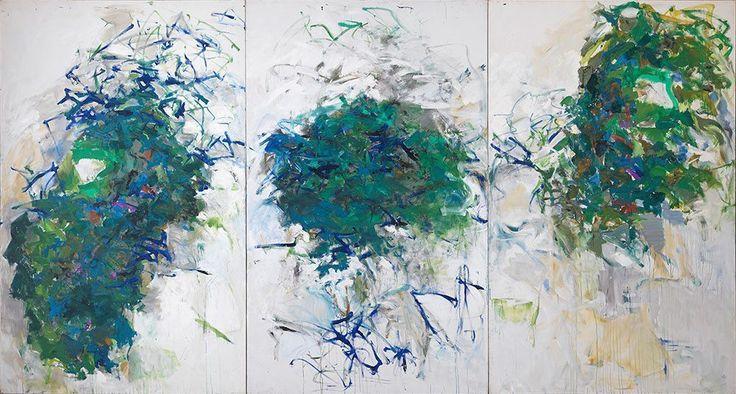 Джоан Митчелл — американская художница, работавшая в стиле абстрактного экспрессионизма