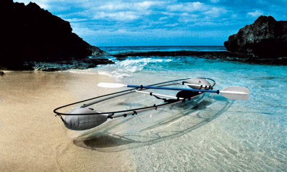 The Daily Gift: A Canoe You Can See Through