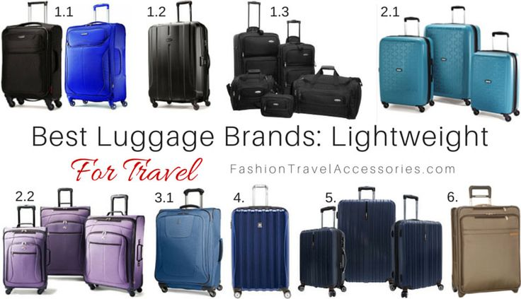 Find out the Best_Luggage_Brands_Lightweight_For_Travel_Expandable_Durable_High_Quality  From: http://fashiontravelaccessories.com/best-luggage-brands-travel-lightweight-expandable/  These luggage are super lightweight and sturdy perfect for international travels for long periods of time.   #luggage #travel #packinglist #packinglists #luggagebrands #travelluggage #bestluggage #samsoniteluggage #samsonite #travelpro #americantourister #bestluggagebrands #lightweightluggage #bestluggage…