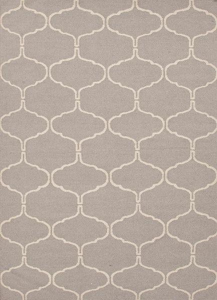 Maroc Delphine Grey Flat Weave Wool Rug Pile Height Style Content Origin India Please Allow 2 Weeks