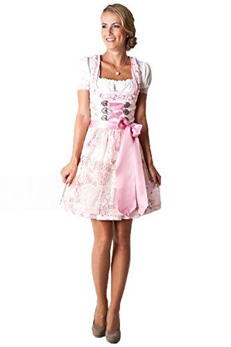 #Ludwig und #Therese #Damen #Trachten #Dirndl #Many #rosa #D010029 #32 - Ludwig…