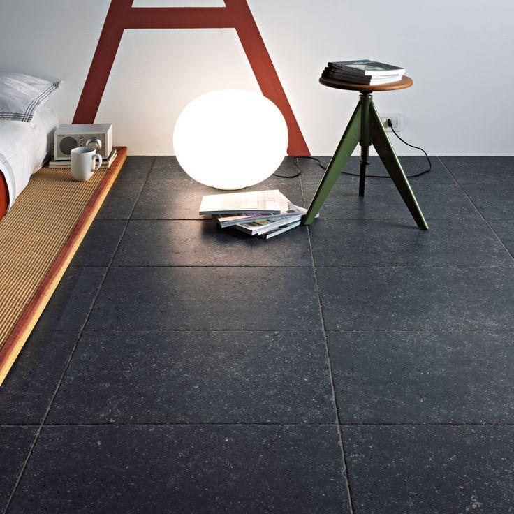 Belgisch hardsteen imitatie 60x60 mat met getrommelde randafwerking (12-BH) Tegelhuys