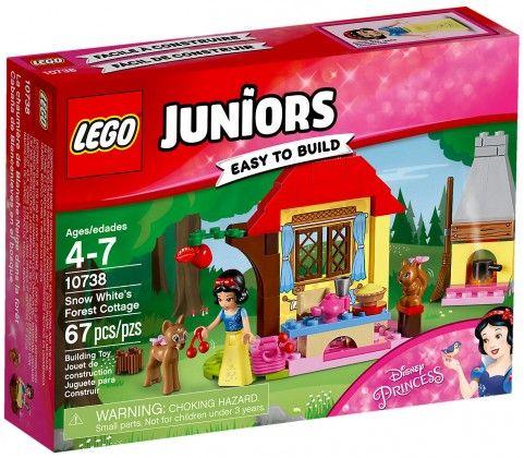 LEGO Juniors 10738 : Le chalet de Blanche Neige - Août 2017