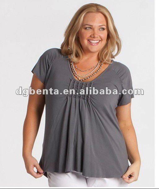 fat women clothes fat women dresses in Apparelplus sizes t shirt  fat women top fat womenplus women's topslow moq