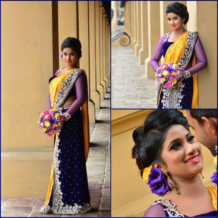 Wedding Hairstyle In Sri Lanka: IBRIDE By INDI Bridal Designer. Srilankan Bridal Services