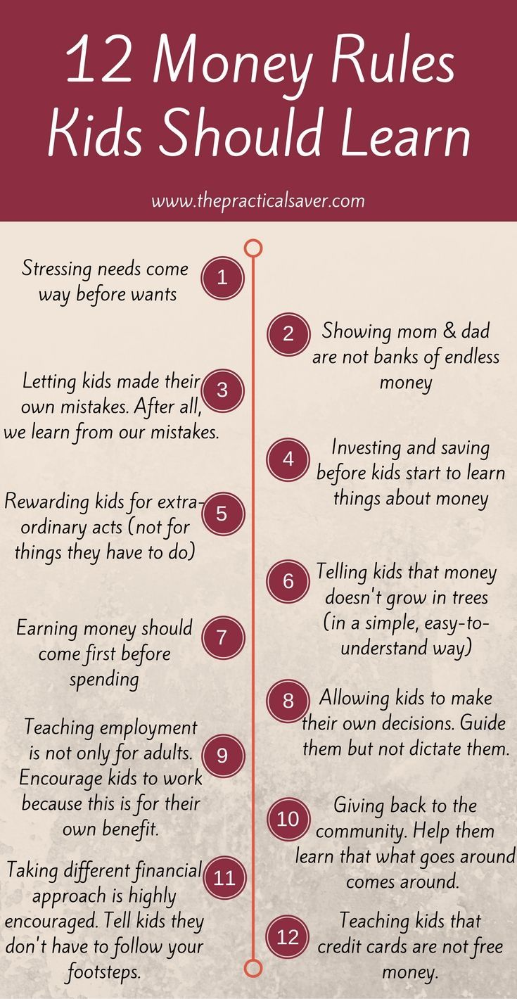 Kids need to become financially responsible. There are money rules kids should learn. The best time to teach them about money, investment, savings, debt, loans, and financial future is now. Small steps can make a huge difference in the lives of your children. #money #teaching #lessons #finance