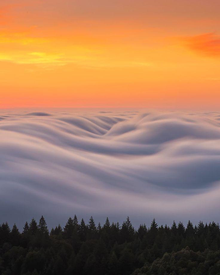 Las olas de niebla son lo más hermoso que he captado tras 8 años experimentando con mi cámara