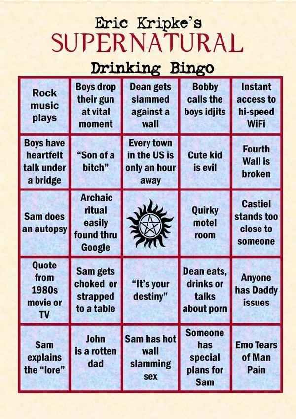 Best 25 supernatural drinking game ideas on pinterest dean 14 ways to get really drunk while watching your favorite tv shows supernatural partysupernatural drinking gameparty ccuart Image collections