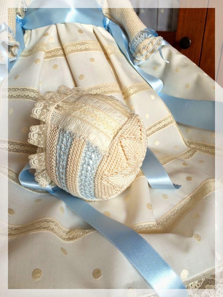 Las 25 mejores ideas sobre ropones para bautizo en - Canastilla artesanal bebe ...