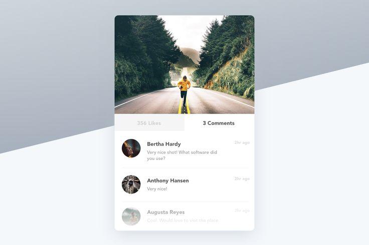 Image Post Card Widget : Cerpow