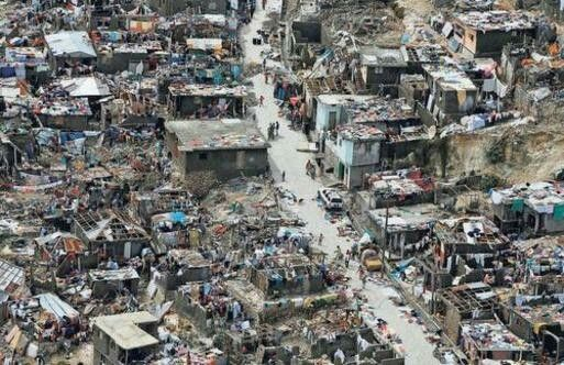 A nation disfigured     400 deaths and counting: After blasting through the Caribbean and killing more than 400 people in Haiti, Hurricane Matthew unleashed torrential rain and up to 120 mile-an-hour winds as it hugged the Florida coast on Friday. Picture shows an affected area in Jeremie, Haiti on Thursday.— PHOTO: REUTERS