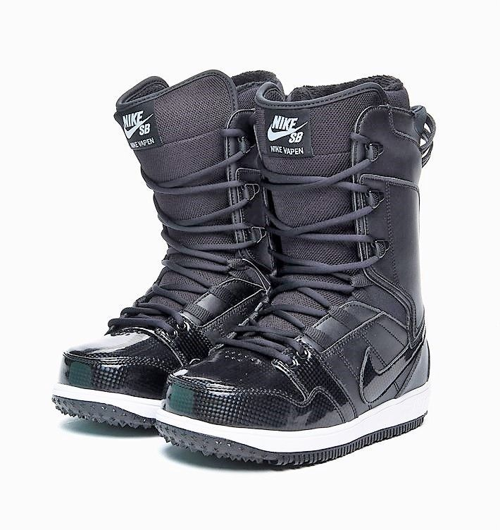 cheap prices newest great deals Women s Nike SB Vapen Snowboarding Boots Black Carbon Fiber ...