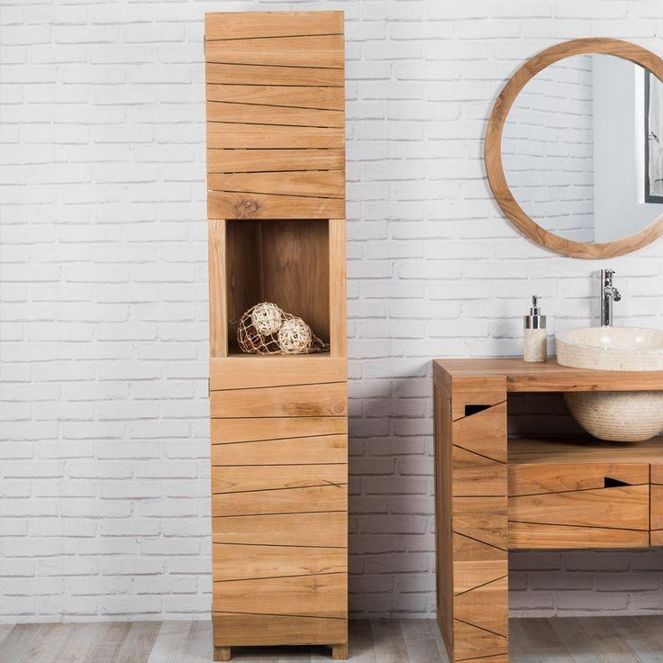 Les 20 meilleures images du tableau colonne salle de bain bois sur pinterest colonne salle de - Colonne salle de bain bois ...