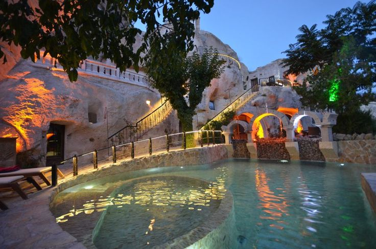 Gamirasu Cave Hotel, Turkey- This recently renovated hotel, used since the Byzantine era as a monastic retreat, had been a getaway just outside of Ürgüp, in the Cappadocia region, for centuries before it was converted into a hotel for the public, which pretty much guarantees its awesomeness.