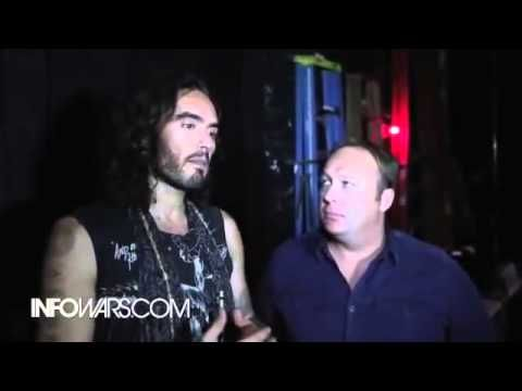 Breaking News : Russell Brand on The Alex Jones Channel Live