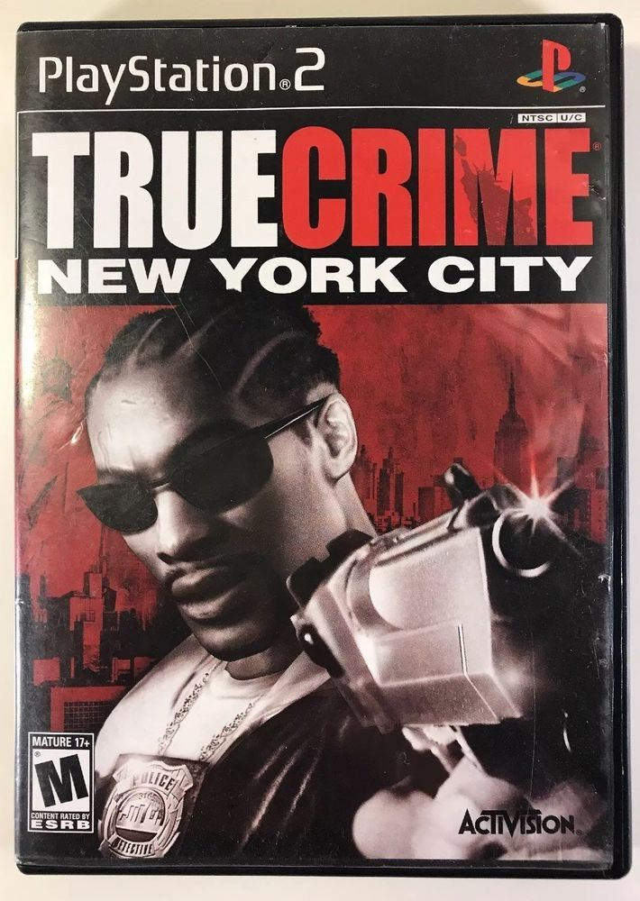 True Crime New Your City Game With Case And Manual Play Station 2